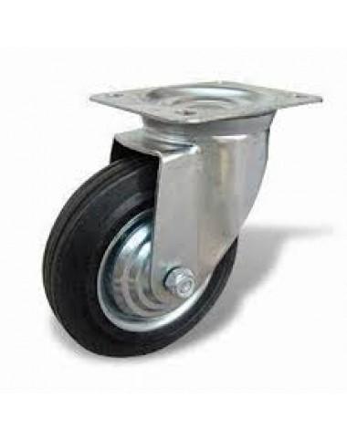 Колесо з поворотним кронштейном   160 мм