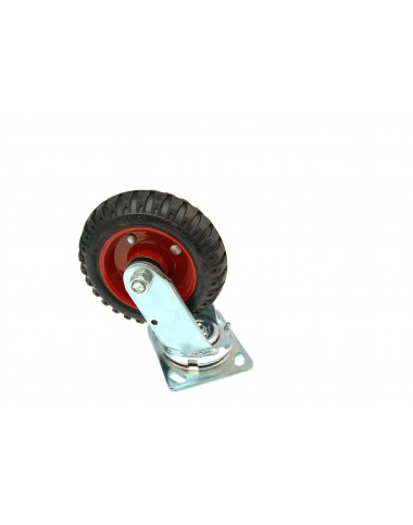 Колесо з поворотним кронштейном (посилене)   160 мм