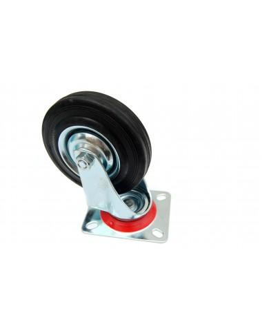 Колесо з поворотним кронштейном   200 мм