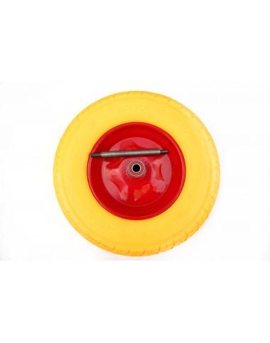 Колесо поліуретанове 4.00х8 (390х15)