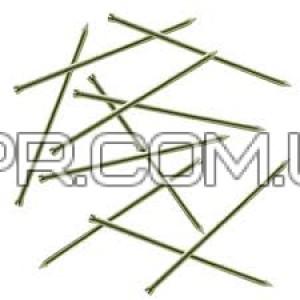 Цвях столярний 1,2х25 жовтий цинк (1 кг) Nail