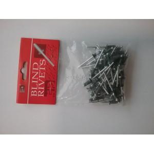 Заклепка 4,0х10 RAL 6020 (50 шт) Nail