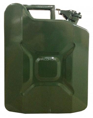 Каністра для ПММ ( Палив-Мастил матер) C-10G, вертикальна, зелена, 10 л