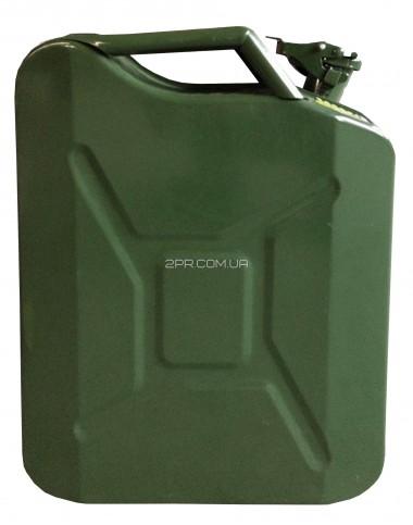 Каністра для ПММ ( Палив-Мастил матер) C-20G, вертикальна, зелена, 20 л