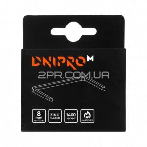 Скоби для будівельного степлера 8 мм (1000 шт) DNIPRO-M фото - інтернет-магазин 2PR