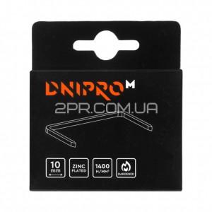 Скоби 10 мм (1000 шт) DNIPRO-M фото - інтернет-магазин інструментів 2PR