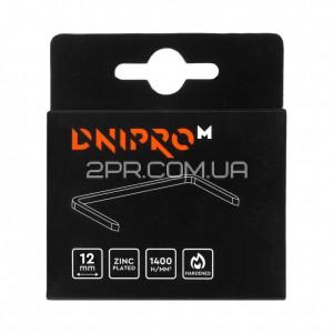 Скоби для будівельного степлера 12 мм (1000 шт) DNIPRO-M фото - інтернет-магазин 2PR