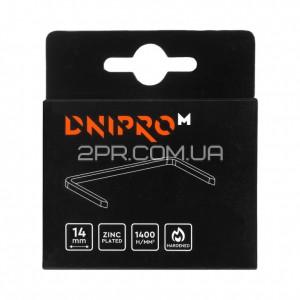 Скоби для будівельного степлера 14 мм (1000 шт) DNIPRO-M фото - інтернет-магазин 2PR