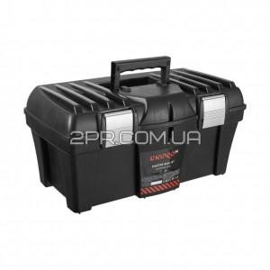 Ящик для інструментів (алюмінієвий замок) Master Box 18 DNIPRO-M фото  2PR