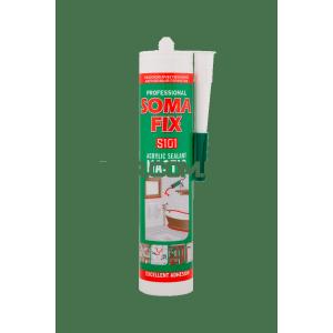 Акриловий герметик білий, 310 мл SOMA FIX