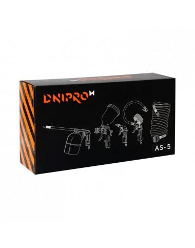 Набір пневмоінструментів AS-5 DNIPRO-M фото - 2PR інтернет-магазин інструментів
