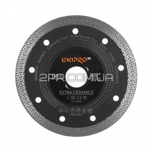 Диск алмазний 125 22,2, Extra-Ceramics DNIPRO-M фото - інтернет-магазин інструментів 2PR