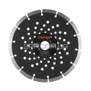Диск алмазний 180 22,2 Segment DNIPRO-M фото  2PR