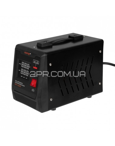 Cтабілізатор напруги автоматичний VR-160R DNIPRO-M фото  2PR