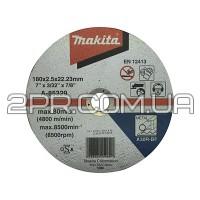 Відрізний диск по металу 180х2,5 30R, плаский Makita