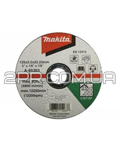 Відрізний диск для каменю 125х3 30Т, плаский Makita