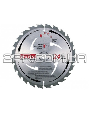 Пиляльний диск Т.С.Т. 185х30/20 мм 24Т Makita