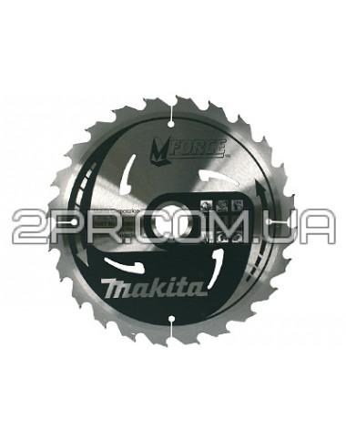 Пиляльний диск Т.С.Т. MForce 165x20 мм 16Т Makita