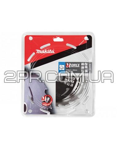 Пиляльний диск Т.С.Т. MForce 210x30 мм 16Т Makita