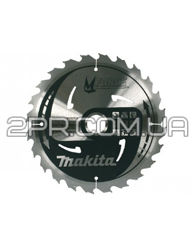Пиляльний диск Т.С.Т. MForce 185x30 мм 24Т Makita
