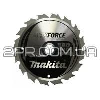 Пиляльний диск Т.С.Т. MAKForce 160x20 мм 16Т Makita