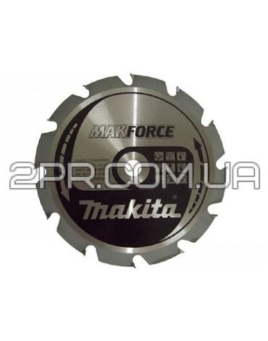 Пиляльний диск Т.С.Т. MAKForce 190x30 мм 12Т Makita