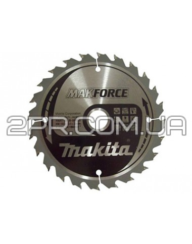 Пиляльний диск Т.С.Т. MAKForce 355x30 мм 24Т Makita