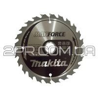 Пиляльний диск Т.С.Т. MAKForce 160x20 мм 24Т Makita