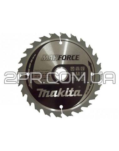 Пиляльний диск Т.С.Т. MAKForce 165x30 мм 24Т Makita