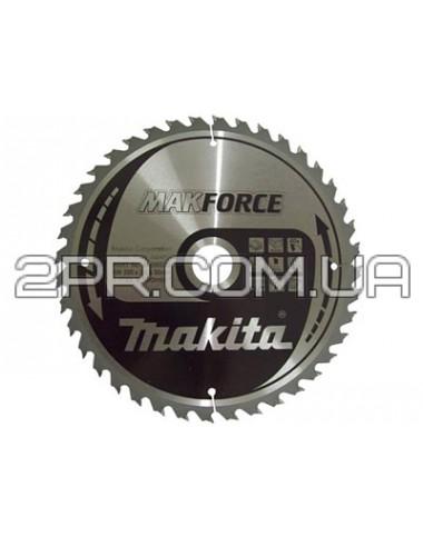 Пиляльний диск Т.С.Т. MAKForce 165x30 мм 40Т Makita