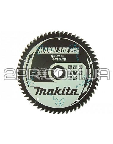 Пиляльний диск Т.С.Т. MAKBlade Plus 255x30 72T Makita