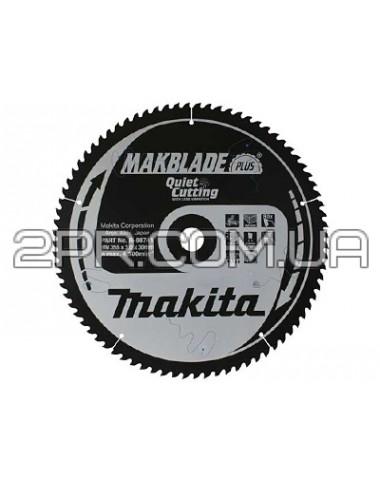 Пиляльний диск Т.С.Т. MAKBlade Plus 260x30 80T B-08779 Makita