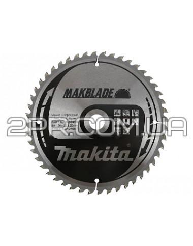 Пиляльний диск Т.С.Т. MAKBlade 250x30 40T Makita