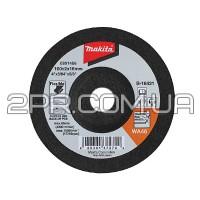 Гнучкий шліфувальний диск 115x3x22.23 60T для високоякісної сталі Makita