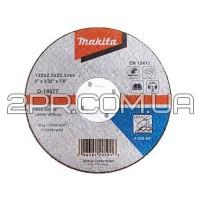 Відрізний диск по металу 125х2,5 30S, плаский Makita