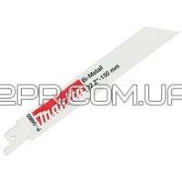Набір пилок BiM по металу для ножівки 150 мм (5 шт.) P-04955 Makita