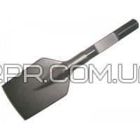 Лопатоподібне зубило для шестигранного патрона 125х400 мм P-05717 Makita