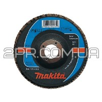 Пелюстковий шліфувальний диск 150х22,23 К40, корунд Makita