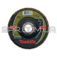 Пелюстковий шліфувальний диск 180х22,23 К40, карбід кремнію Makita