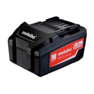 Акумуляторний блок 18 В, 5.2 Aг Metabo