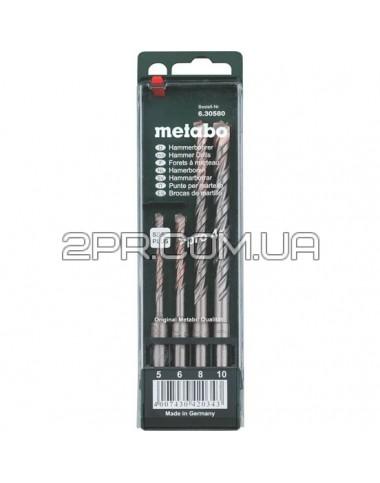 Комплект бурів SDS-Plus, 5-6-8-10 мм x 160 мм (4 шт) Metabo