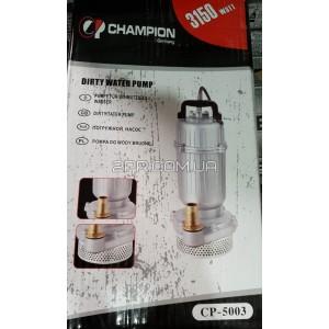 Насос з ситом без поплавка 3150 W Champion CP-5003