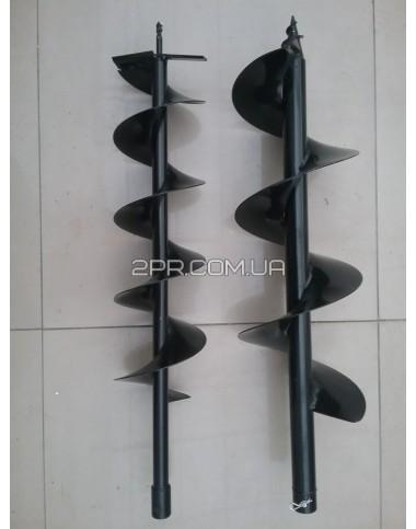 Шнек одинарний для мотобура 200 мм Sadko фото довжини