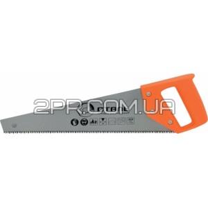 Ножівка по дереву 450мм пластикова ручка Сталь