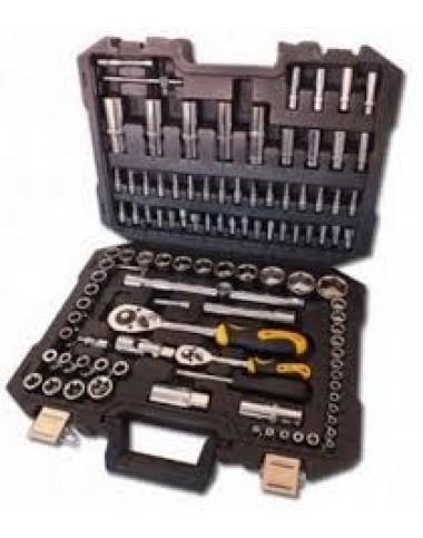 Професійний набір інструментів 108 од. 1/4'&1/2' AT-1082 Сталь