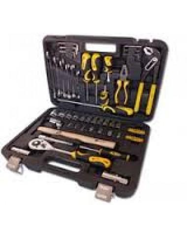 Професійний набір інструментів 59 од. 1/4'и1/2' AT-5912 Сталь