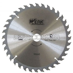 Пильний диск 300x30, 100 зуб. по алюмінію Werk